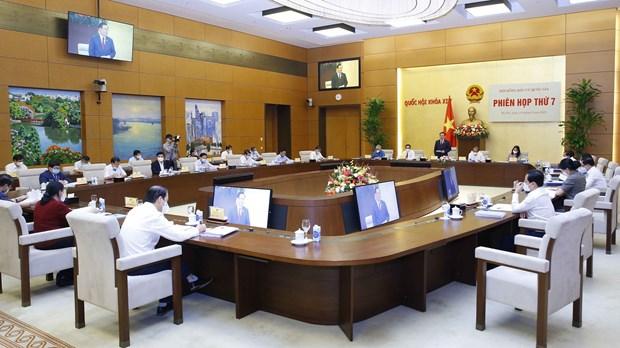 Adoptan en Vietnam resolucion sobre resultados y lista de diputados electos a Asamblea Nacional de la XV legislatura hinh anh 1