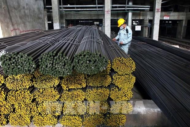 Grupo vietnamita Hoa Phat exporta 20 mil toneladas de acero en mayo hinh anh 1