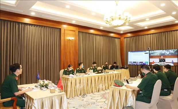 Altos funcionarios de defensa del Sudeste Asiatico y sus socios se reunen hinh anh 1