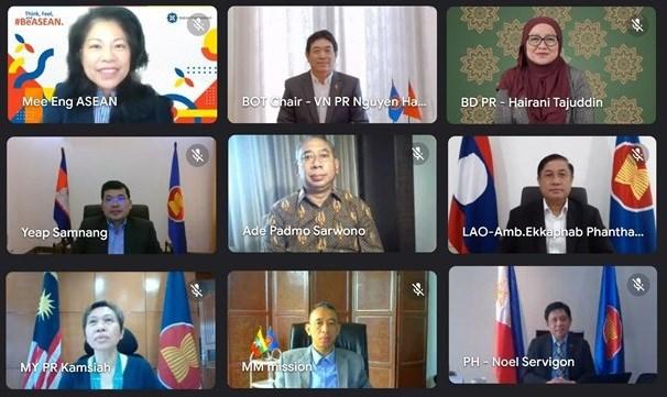 Preside Vietnam reunion de Junta Directiva de Fundacion de ASEAN hinh anh 1