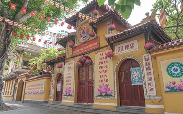 Refuerzan medidas preventivas contra el COVID-19 en organizaciones religiosas en Vietnam hinh anh 1