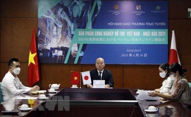 Empresas vietnamitas y japonesas en industrias auxiliar buscan ampliar cooperacion hinh anh 1
