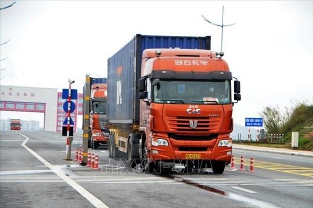 Localidades vietnamita y china promueven cooperacion comercial hinh anh 1