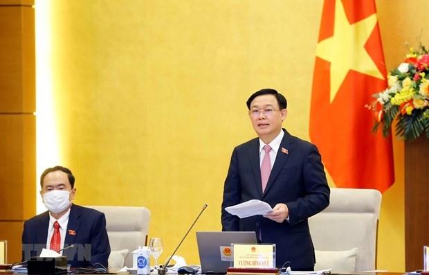 Comite Permanente del Parlamento de Vietnam iniciara proxima semana su 57 reunion hinh anh 1