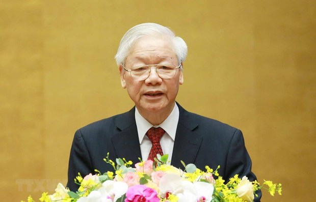 Pensamiento de Ho Chi Minh es tesoro valioso del pueblo vietnamita, segun maximo dirigente partidista hinh anh 1