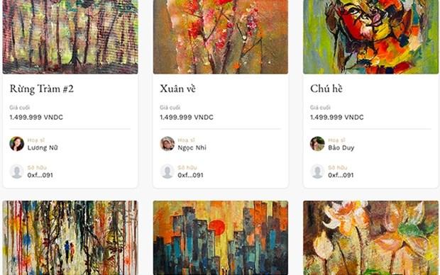 Presentan en Vietnam obras artisticas en plataforma digital hinh anh 1