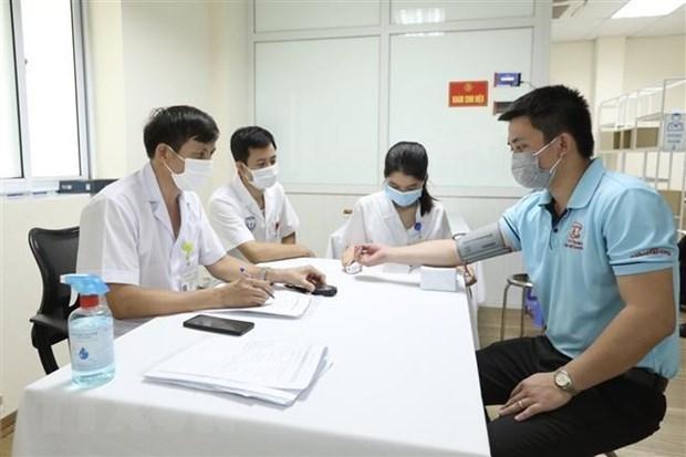 Vietnam confirma esta tarde 104 casos del COVID-19 hinh anh 1