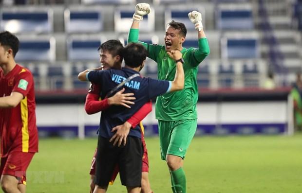 Prensa asiatica elogia victoria de seleccion de futbol de Vietnam hinh anh 1