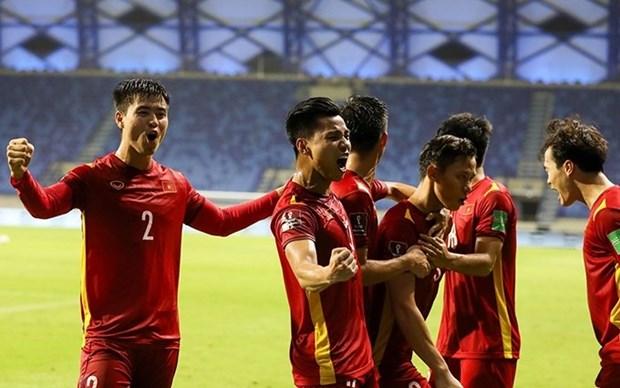 Equipo de futbol masculino de Vietnam sube en ranking de FIFA hinh anh 1