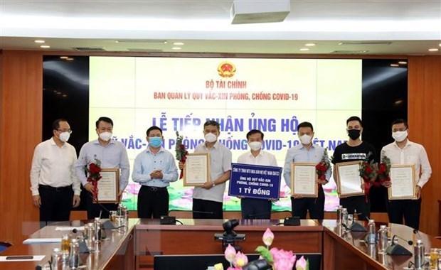 Vietnam recauda fondo millonario para adquisicion de vacunas contra COVID-19 hinh anh 1