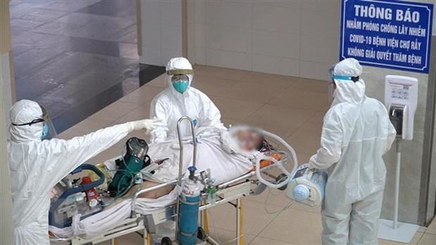 Suma Vietnam otros 103 casos de COVID-19 hinh anh 1