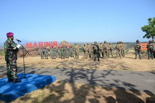 Marines de Indonesia y Estados Unidos realizan ejercicio conjunto hinh anh 1