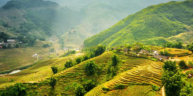 Forbes: Provincia vietnamita de Lao Cai entre las cinco maravillas naturales del Sudeste Asiatico hinh anh 1
