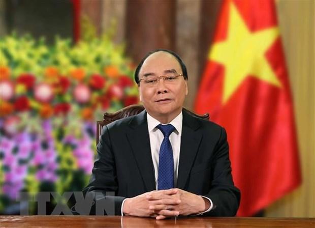 Presidente de Vietnam saluda el aniversario 70 de la Academia Militar de Logisticas hinh anh 1