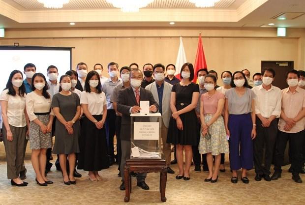 Vietnamitas en Japon apoyan a coterraneos en medio de pandemia hinh anh 1