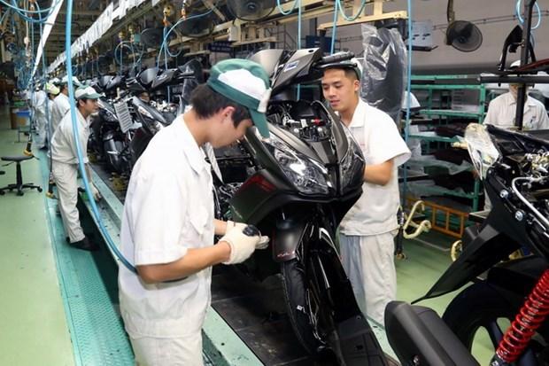 Disminuyen ingresos de ventas de motocicletas y automoviles de Honda Vietnam hinh anh 1