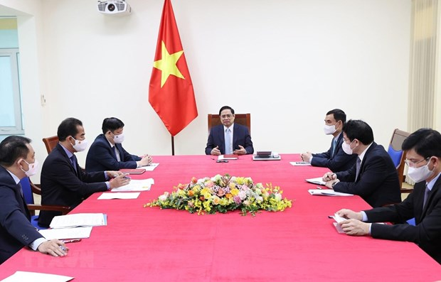 Vietnam y Francia acuerdan intercambiar experiencias antiepidemicas hinh anh 1