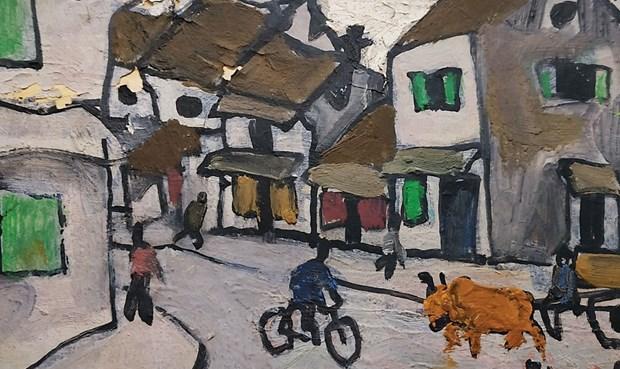 Subastaran en Singapur obras de celebre pintor vietnamita hinh anh 1
