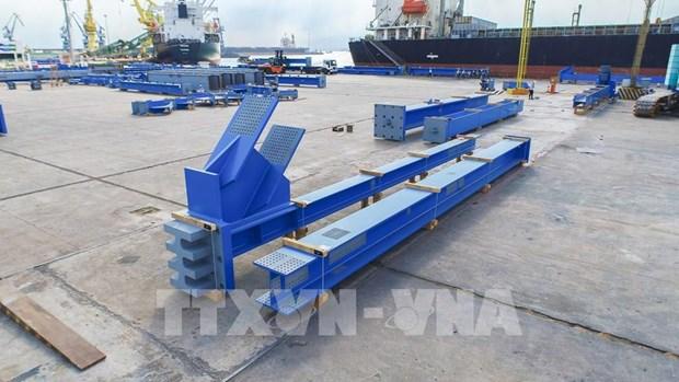 Empresa vietnamita suministra mil 560 toneladas de equipos estructurales para Indonesia hinh anh 1