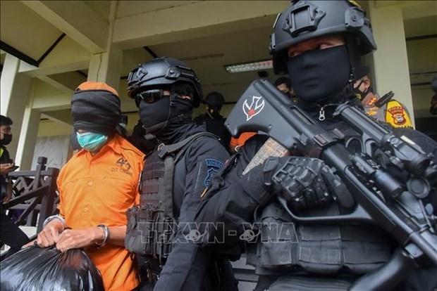 Indonesia arresta a 13 presuntos terroristas hinh anh 1