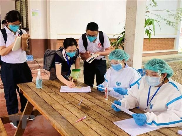 Laos impone cuarentena obligatoria a contactos cercanos con pacientes del COVID-19 hinh anh 1