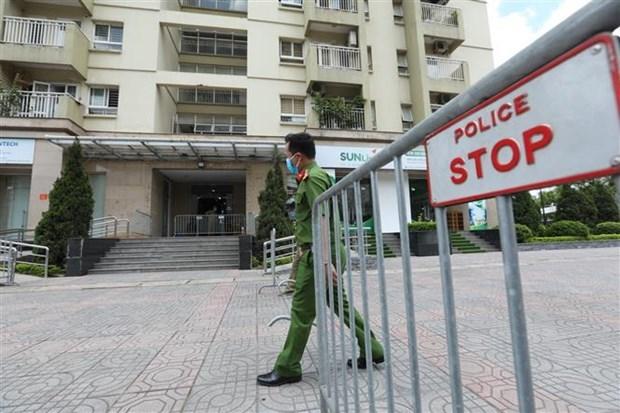 Registra Vietnam 213 casos nuevos de COVID-19 hinh anh 1