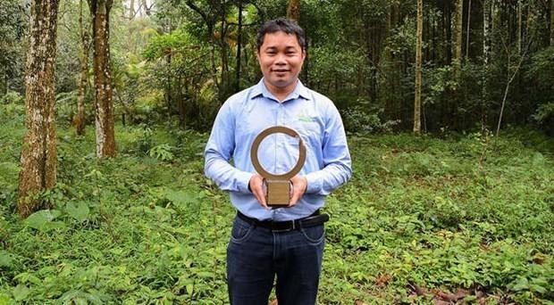 Recibe experto vietnamita Premio Medioambiental Goldman hinh anh 1