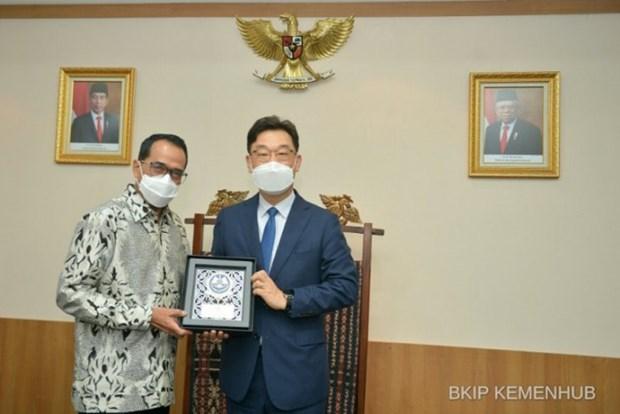 Indonesia y Corea del Sur cooperan para mejorar infraestructura de transporte hinh anh 1
