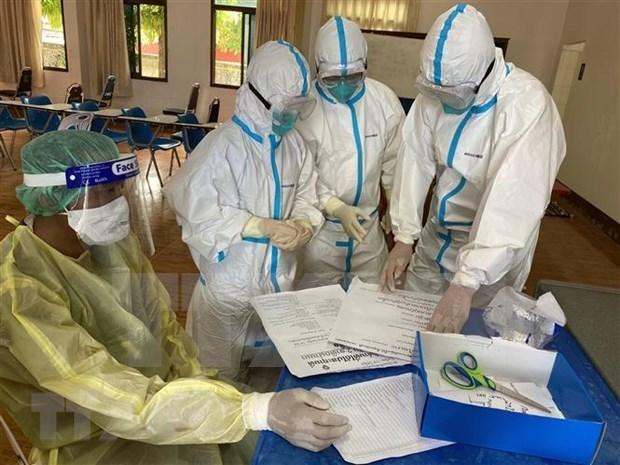 Laos avanza en campana de vacunacion contra el COVID-19 hinh anh 1
