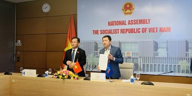 Legisladores vietnamitas participan en reunion del Grupo asesor de la AIPA hinh anh 2