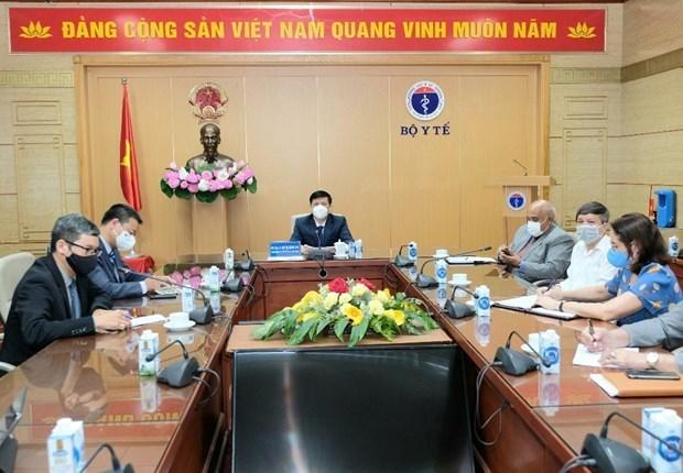 Vietnam y Cuba discuten cooperacion en produccion de vacunas contra COVID-19 hinh anh 2