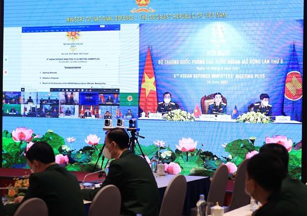 Destaca Vietnam papel de ADMM y ADMM+ para la paz hinh anh 2
