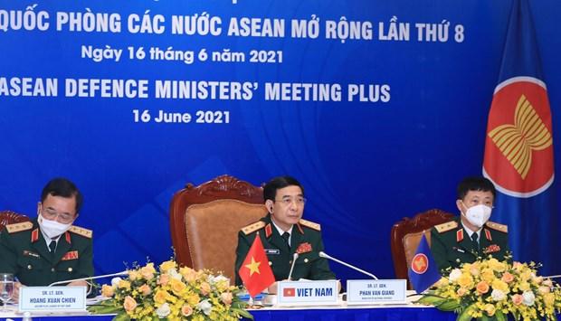 Destaca Vietnam papel de ADMM y ADMM+ para la paz hinh anh 1