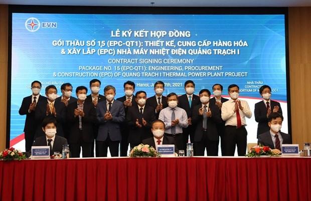 Firman contrato de mas de mil millones de dolares del proyecto de central termica en Vietnam hinh anh 2