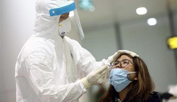 Hanoi realizara pruebas aleatorias del COVID-19 a viajeros en aeropuerto de Noi Bai hinh anh 1