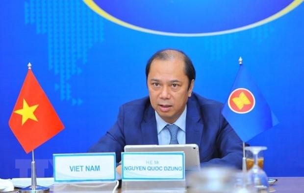 Vietnam participa en la Reunion Consultiva Conjunta de la ASEAN hinh anh 1