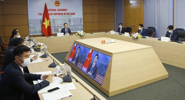 Vietnam y China fortalecen relaciones bilaterales hinh anh 1