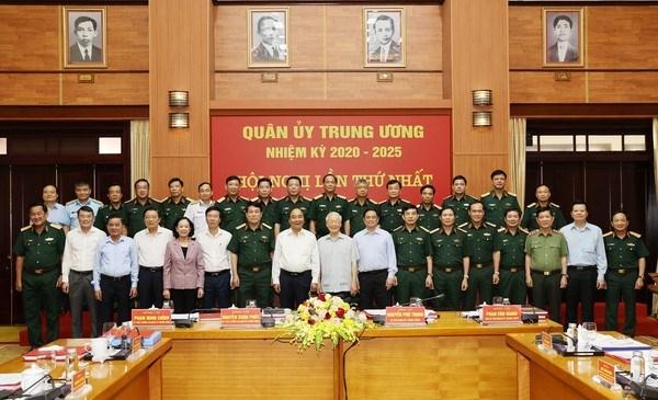 Sesiona Comision Militar Central del Partido Comunista de Vietnam hinh anh 2