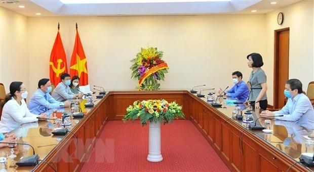 Felicitan a VNA por Dia de Prensa Revolucionaria de Vietnam hinh anh 2