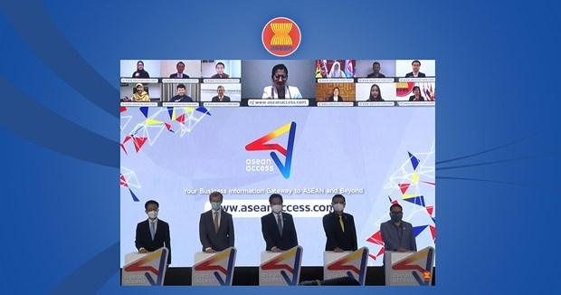 Presentan portal de informacion empresarial de la ASEAN hinh anh 1