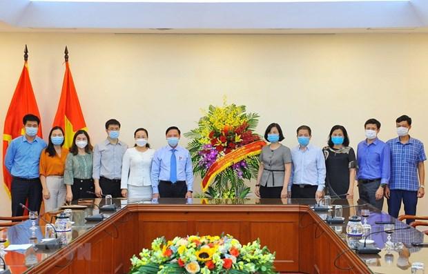 Felicitan a VNA por Dia de Prensa Revolucionaria de Vietnam hinh anh 1