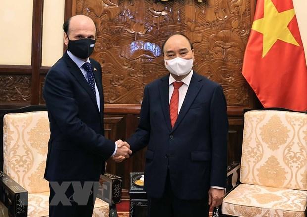 Embajador destaca perspectivas de relaciones multifaceticas Argentina-Vietnam hinh anh 1