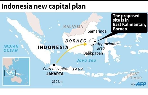 Trasladan gradualmente aparato estatal de Indonesia a nueva capital hinh anh 1