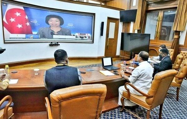 India y Singapur refuerzan fomentar relaciones de asociacion estrategica hinh anh 1