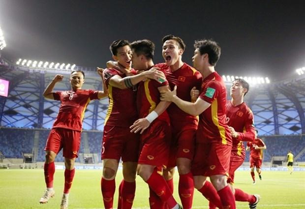 Vietnam se clasifica para finales de la Copa Asiatica de Futbol 2023 hinh anh 1
