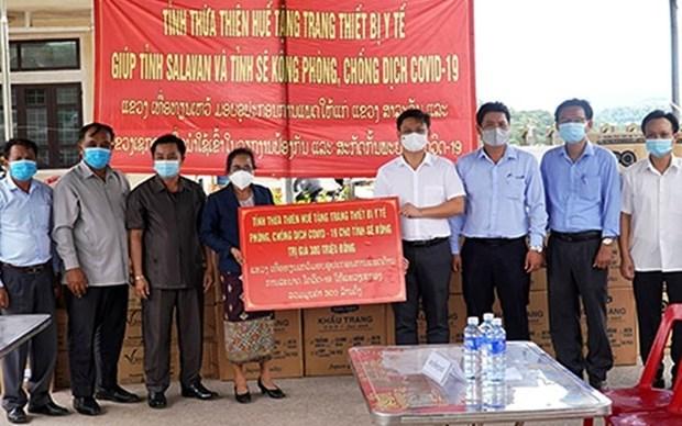 Vietnam apoya a Laos en combate contra el COVID-19 hinh anh 1