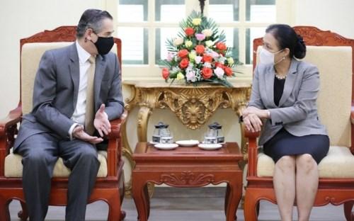 Buscan promover intercambio pueblo a pueblo entre Vietnam y Chile hinh anh 1