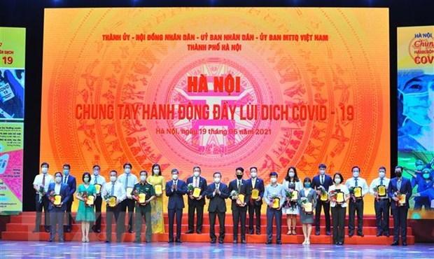 Hanoi busca promover inmunizacion ampliada de vacuna contra el COVID-19 hinh anh 1