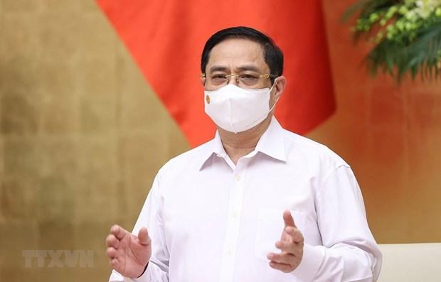 Premier de Vietnam pide promover papel pionero de la diplomacia hinh anh 1