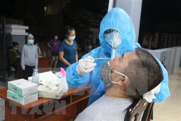 COVID-19: Otros 78 casos nuevos registrados en Vietnam hinh anh 1